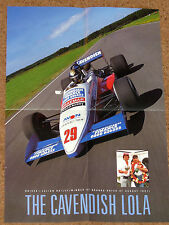 1987 Formula 3000 POSTER-Julian Bailey-LOLA T87-Brands Hatch vincitore