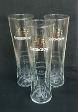 THREE STUNNING TALL STRONGBOW CIDER PINT GLASSES - NEW - Home Bar -  Pub