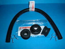 YAMAHA  XT500 TT500 FUEL TANK GROMMET  SET, plus Fuel Line and Clips NOS  OEM