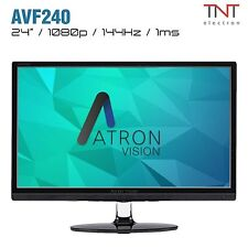 "Atron Vision AVF240 24"" 144Hz Gaming Monitor 1920x1080, Overclockable up 185Hz"