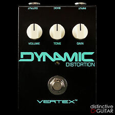 NEW VERTEX EFFECTS DYNAMIC DISTORTION PEDAL - GERMANIUM FUZZ / TS OVERDRIVE