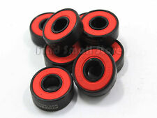 8 Pcs 608RS Good Roller Skates Ceramic Ball Inline Skate Bearings Drift Plate