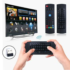 Rechargeable 2.4G Wireless Keyboard Gyro Fly Air Mouse IR PC TV Remote Control