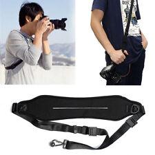 Black Quick Rapid Single Shoulder Sling Strap Belt Fr Digital DSLR SLR Camera HK