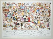 Poster:Captain America/Spider-man/Snoopy/Mickey Mouse/Popeye/Peanuts/Disney/Groo