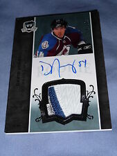 07-08 THE CUP David Jones AUTO 3CLR PATCH RC 54/249 1/1 His Jersey #  Minnesota