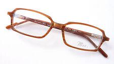Brillengestell Brille Kunststoff Fassung Herren eckig braun stabil Siegel Gr M