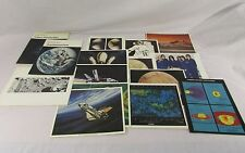 Lot of 2: NASA Apollo-Soyuz Pamphlet - No.2 & 4, Plus Space Picture Cards