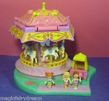 Polly Pocket Mini ♥ Nostalgie Pferdekarussell ♥ Spin Pretty ♥ 100% Komplett ♥