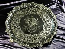 A HISTORICALLY IMPORTANT PAUL STORR SOLID SILVER PRESENTATION SALVER - 6,450 g.