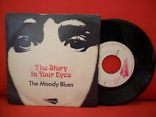 THE MOODY BLUES The Story In Your Eyes 7/45 PORTUGAL RARE TH 5 NMINT