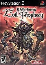 McFarlanes Evil Prophecy PS2 Game  Brand New - Fast Ship - In Stock
