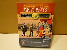 GMT Games Command and Colors Ancients Expansions Combo Pack 2 and 3 GMT 1407