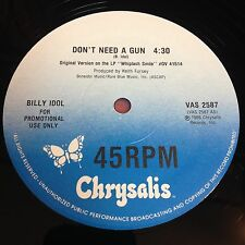 Billy Idol: Don't Need A Gun 12""