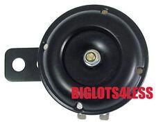 NEW BLACK 12V 12 VOLT HORN MOTORCYCLE HONDA CA CB CL XL XR SL NS CM CR CBR