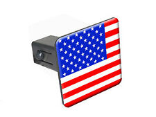 "USA Flag - 1 1/4 inch (1.25"") Trailer Hitch Cover Plug"