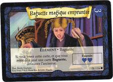 Harry Potter n° 78/116 - Elément : baguette magique empruntée