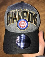 Chicago Cubs 2016 World Series Champions New Era Locker Room Hat 39 THIRTY OSFM