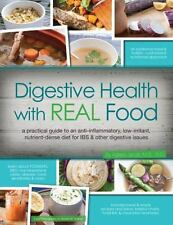 Digestive Health with REAL Food Brand New Paperback Book Aglaee Jacob WT69679