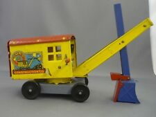 1950's Marx Lumar Construction Co. Tin Litho Steam Shovel Toy
