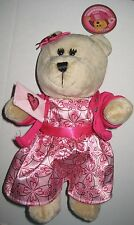 HTF Starbucks Bearista Bear 2007 57 Valentine's Girl FOREIGN ISSUE ASIA? w/ TAGS