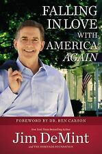 Falling in Love with America Again, DeMint, Jim, Good Condition, Book
