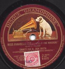 """JACK SMITH """"Der flüsternde Bariton"""" :When day is done  +  Miss Annabelle Lee"""