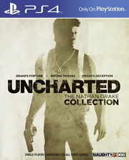 New Sony PS4 Uncharted The Nathan Drake Collection Asia HK Version Chi/Engl Sub