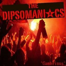 THE DIPSOMANIACS - GAMBRINUS CD (2012) ANGELIC UPSTARTS, RED ALERT, LEATHERFACE