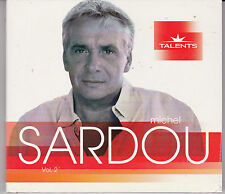 CD DIGIPACK 16T MICHEL SARDOU COLLECTION TALENTS BEST OF 2006 NEUF SCELLE
