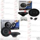 """2 x KENWOOD 6.5"""" CAR AUDIO 2-WAY COAXIAL SPEAKERS PLUS 2 x 6x9"""" 3-WAY SPEAKERS"""