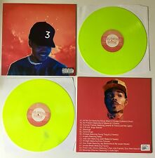 Chance The Rapper Coloring Book Vinyl 2LP NEON Green/Yellow