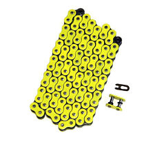 520x106 Yellow O-Ring Drive Chain Motorcycle ATV MX 520 Pitch 106 Links