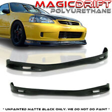 99-00 Honda Civic EK 3D Hatch Hatchback SPOON Front Bumper PU Lip (Urethane)