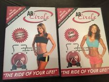 2 DVD Set: Ab Circle Pro Advanced Workout - 12 Minutes Awesome Abs 16 Lean Mean