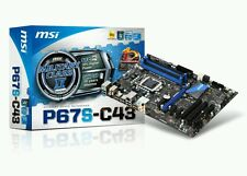 MSI P67S-C43 Intel Socket Lga 1155 Motherboard DDR3 Military Class *