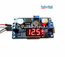 Convertitore Regolabile DC-DC Step Down LM2596S + Voltmetro Display 5V 12V Buck