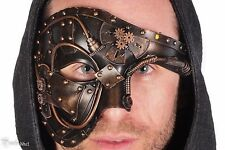 Steampunk Gear Eye Mask Masquerade Halloween Costume Eye Face Gears Copper