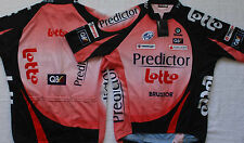 LOTTO PREDICTOR TEAM CYCLING JERSEY SMALL NEW **FREE DAVITAMON LOTTO SKULL CAP !
