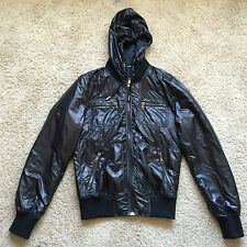 Mens Lightweight Shell Black Jacket by Dolce & Gabbana Size 48