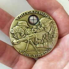 POLICE SWAT NAVY SEALS TEAM 6 NSW USMC SNIPER SCOPE CHALLENGE COIN NON CPO NYPD