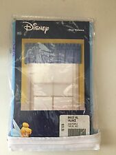 Disney Tinkerbell Valances Aqua/Purple Set of 2 84x15