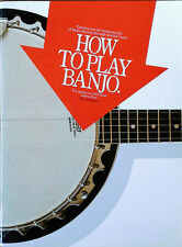 HOW TO PLAY BANJO - TIM JUMPER - 63 PAGE SONGBOOK - 1996
