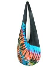 MEDIUM SHOULDER BAG SLING HOBO TIE DYE GYPSY FREE UNISEX CAMPUS BOHEMIAN SG 20