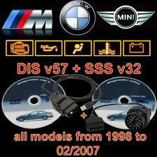 BMW USB OBD Diagnostic cable INPA Ediabas DIS SSS GT1 and 16 to 20 Pin adapter