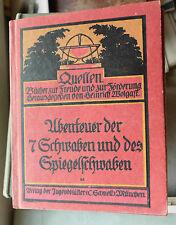 Ludwig Aurbacher: Abenteuer der sieben Schwaben, Jugendblätter, Rolf Winkler
