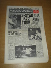 MELODY MAKER 1960 SEPTEMBER 3 JUNE CHRISTY JUDY GARLAND BING CROSBY REINHARDT +
