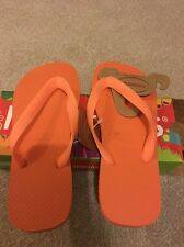 Ladies Havaianas  Top Rubber Casual Slip On Sandals Brasil Flip Flop
