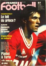 France Football n°1882-1982-BARBERIS-FRANCE PEROU-PLATINI-CASTANEDA-BELLONE