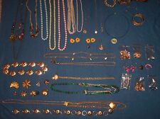 Costume Jewelry Lot, Approximately 35 pieces